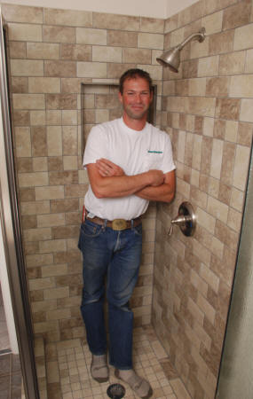 Joel Cole Construction - Bathroom remodel shower stall